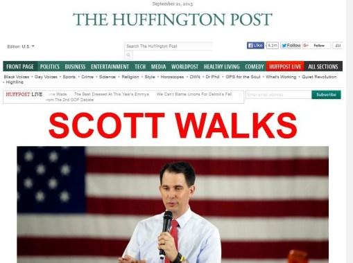 scott walker huffpo