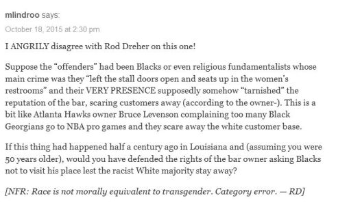 Dreher race trans