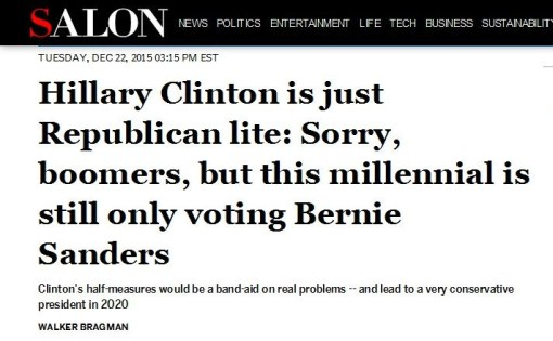 Hillary Clinton is just Republican lite